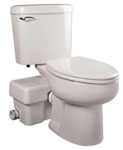 Liberty Pumps Ascent II Macerating Toilet