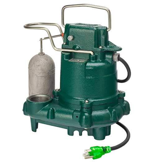 Zoeller Model 63 Sump Pumps Premium Series Allied Phs