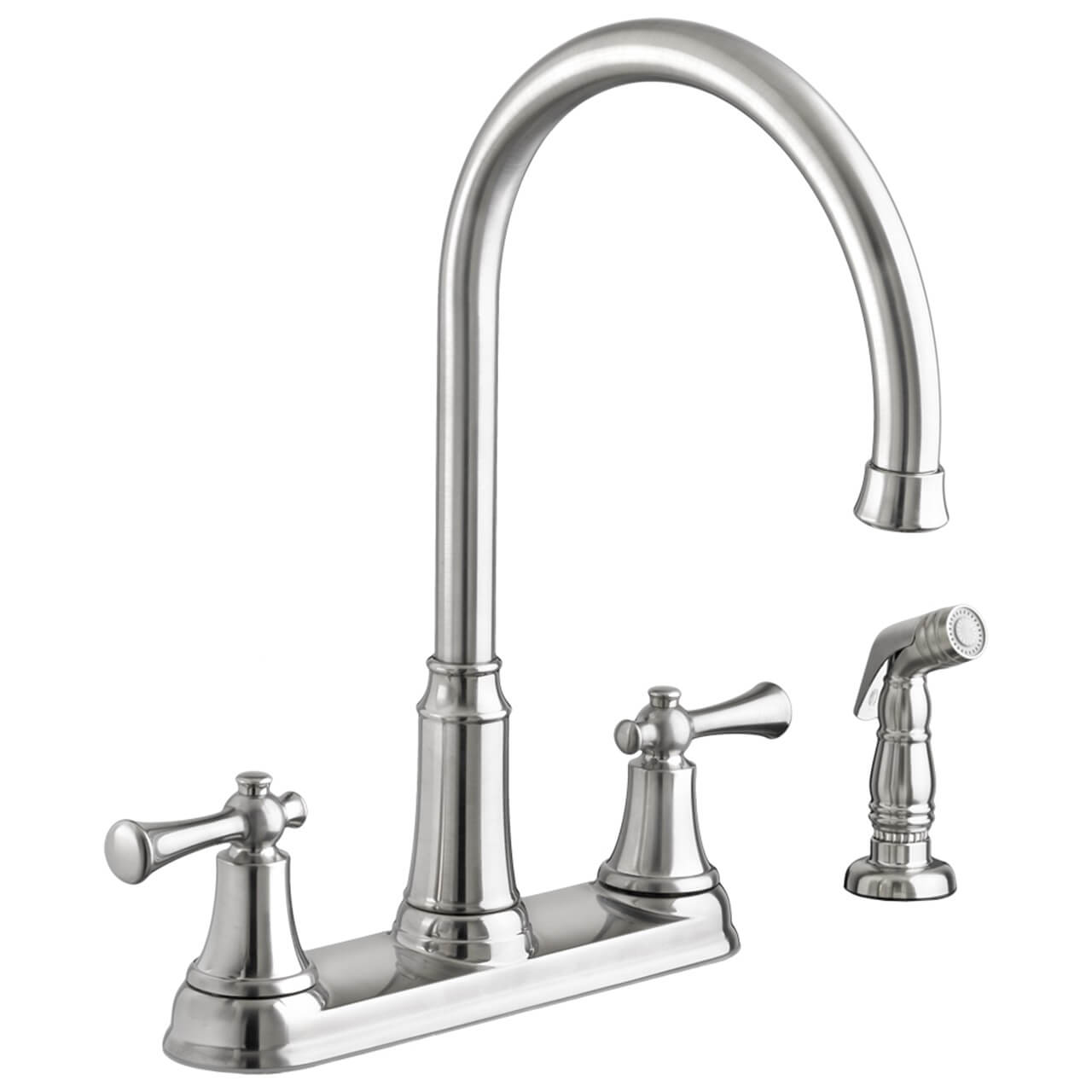 american standard kitchen faucet repair american standard portsmouth 2 handle high arc kitchen 22893